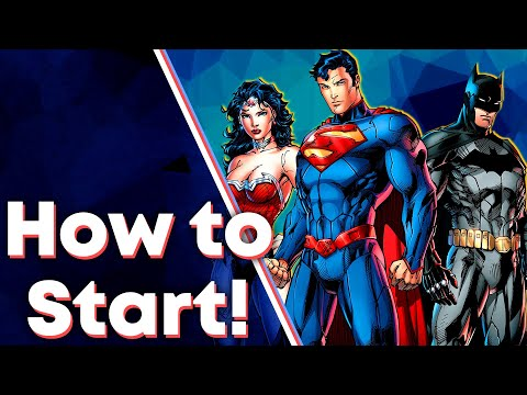 How to Start Reading Marvel/DC Comics!