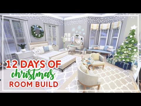 12 Days of Christmas in The Sims 4 🎄🎄 | Christmas Dream Room Build (Day #6)
