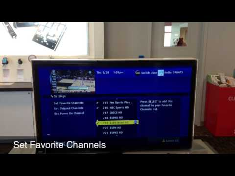 Verizon Wireless: Setting Up User On Cox Whole Home DVR
