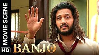 Riteish dawns a new attire for Nargis Fakhri | Banjo | Movie Scene