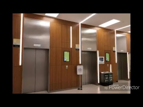 Another 3 Schindler 5500 MMR Elevators At MyTown Shopping Centre
