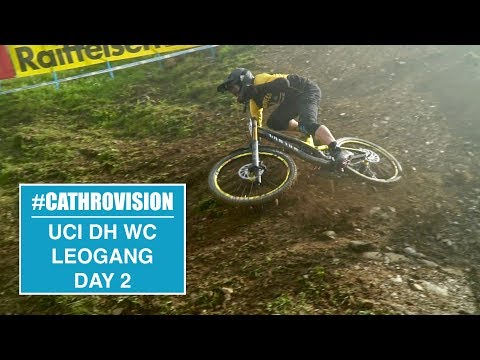 #CATHROVISION // 2018 Leogang World Cup Day 2 - RAW/STUMP HUCKS
