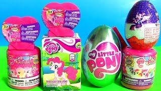 My Little Pony Fashems Toys Complete Collection Surprise Toys Eggs Pops Kinder Pinkie Pie Mlp