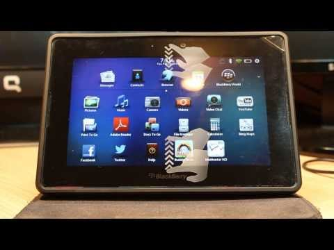 Apps and games install to BlackBerry PlayBook