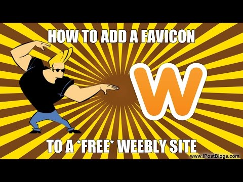 Adding a Favicon to a Free Weebly Site [UPDATED] 2014