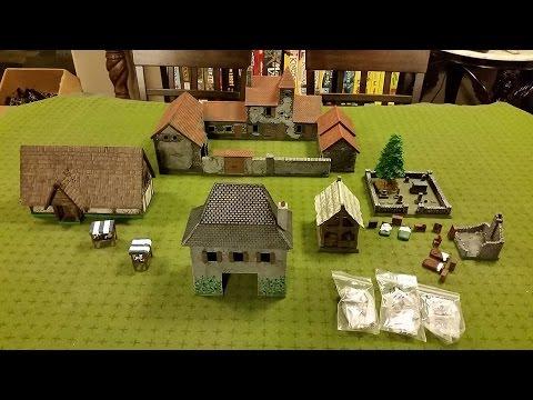 Miniature Building Authority Castle Kickstarter II Rewards Unboxing Part 1
