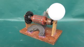 How To Make Simple Electric Motor Genera