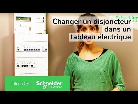 Comment installer un disjoncteur dans un tableau électrique ?