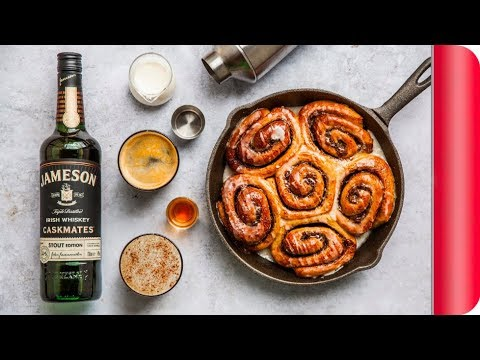 THE ULTIMATE CINNAMON ROLLS AND IRISH COFFEE #ad