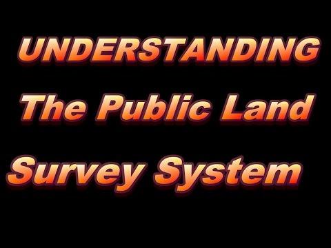 Understanding the Public Land Survey System