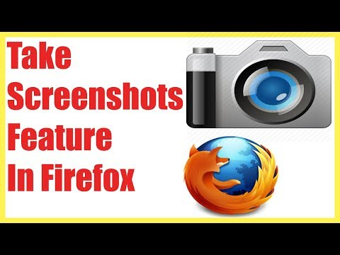 How To Enable Screenshots Feature In Firefox