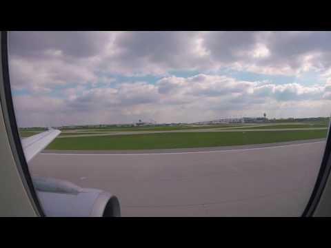 Lufthansa A319-100 Business Class MUC-FRA, Round the World 2-2