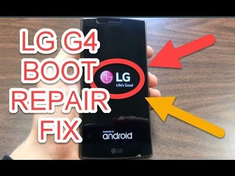 REPAIR BOOTLOOP LG G4 EASY FIX  2018
