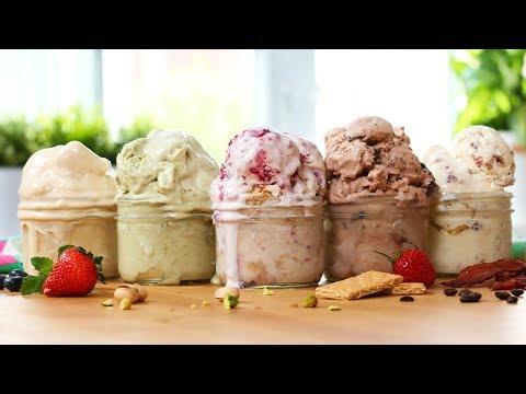 5 EASY Ice Cream Recipes! | SOOOOO GOOD!!!