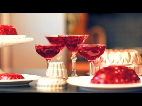 How to Make a Raspberry Jello Cosmo