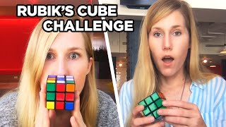 I Learned How To Solve A Rubik Cube In Less Than 7 Days