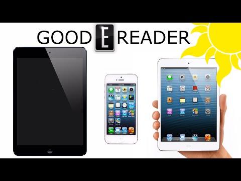Outdoor e-Reading Test: iPad Air, iPad Mini Retina, iPhone 5