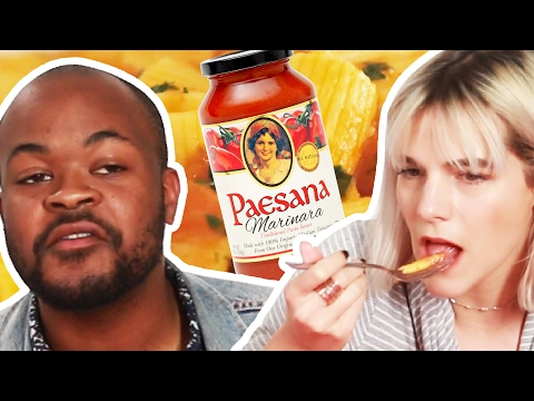 People Guess Cheap Vs. Expensive Pasta Sauce