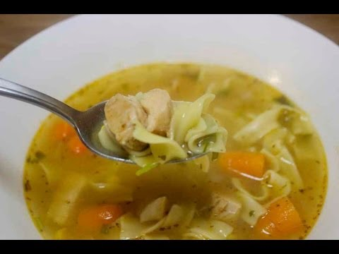 Chipotle Chicken Noodle Soup - Cooked by Julie - Episode 101