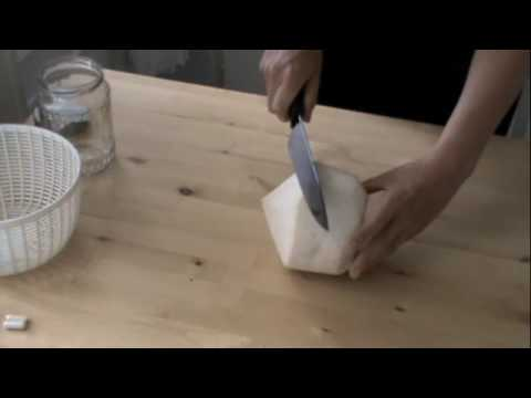 Opening A Coconut & Making Coconut Water Kefir and Yogurt Part 1, Ep13
