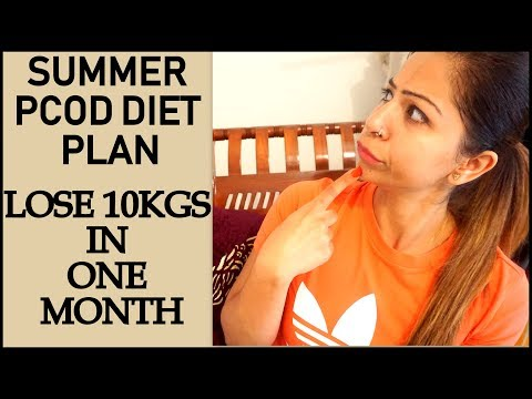 PCOS/PCOD Weight Loss Diet Plan for Summer | Lose Weight Fast 10 Kgs in 1 Month | Fat to Fab Suman