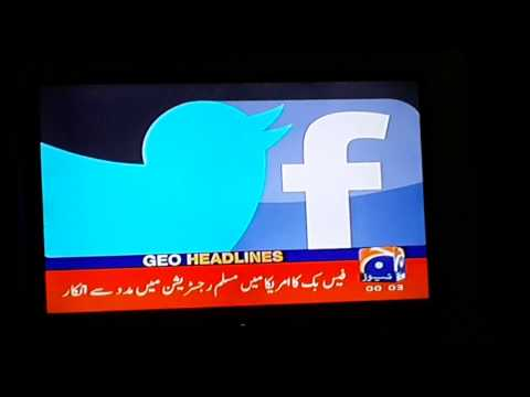 Shocking news!!!Facebook has declined registeration