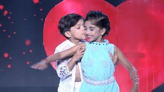 D5 Junior | Junior Shahrukh Khan & Kajol on the floor! | Mazhavil Manorama