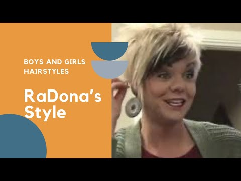 As Requested - How RaDona (Styles Her New) HairStyle