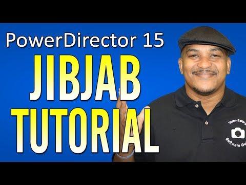 CyberLink PowerDirector 15 Ultimate | JibJab - Talking Head Tutorial