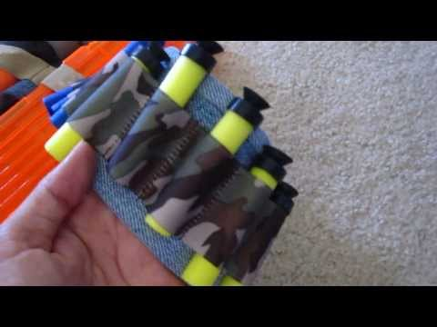 DIY Nerf/ Darts Ammo Belt easy project
