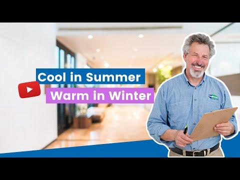 Cool in Summer, Warm in Winter | Margo & Robert