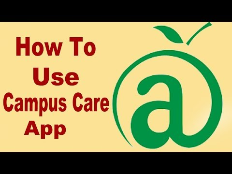 How To Use Campus Care App And How To Recover User ID ,Password
