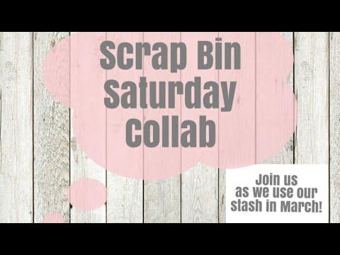 Scrap Bin Saturday ~  Prarie Chic Cupcake Recipe Tin