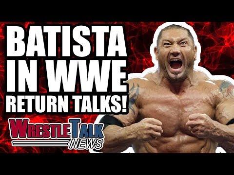 AJ Styles Not Long Left In WWE?! Batista In Talks For WWE RETURN! | WrestleTalk News Nov. 2017