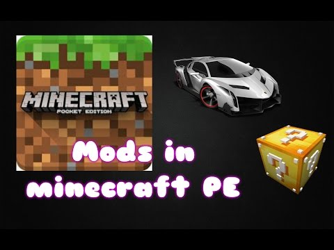 How to download mods in Minecraft PE