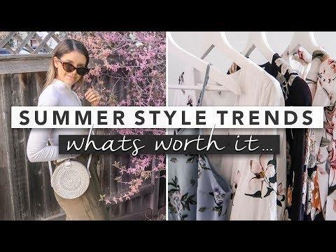 Summer Fashion Essentials - What's Worth It?   by Erin Elizabeth