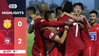 Highlights | DNH Nam Định – Hải Phòng FC | Mpande và Claudecir tỏa sáng | VPF Media
