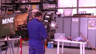 First start of Rotec R2800 radial engine
