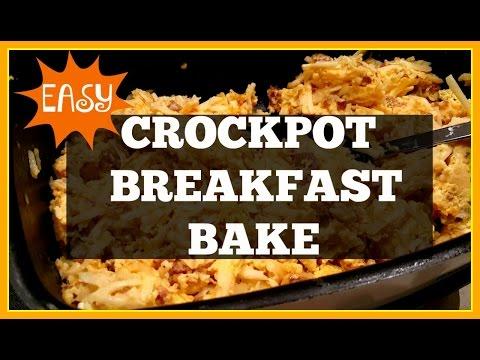 Crockpot Breakfast Bake | Crocktober Collab!