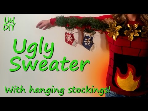 Make an Ugly Sweater - DIY Tutorial