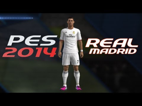 How to Create Real Madrid Kit in PES 2013/14 Season