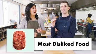 Pro Chefs Cook and Eat Food They Don't Like | Test Kitchen Talks | Bon Appétit