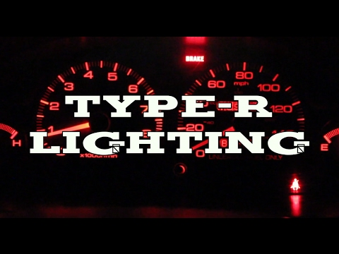 Acura Integra - Instrument panel lighting change