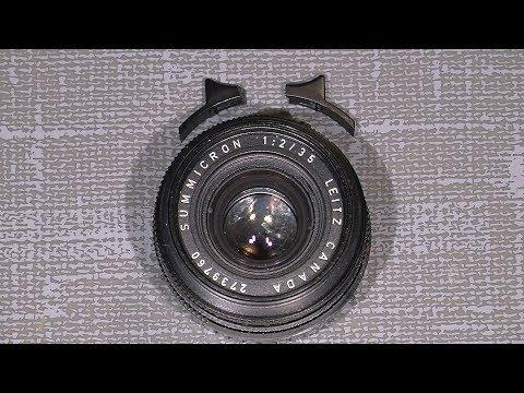 Repair broken focus knob on Leica M SUMMICRON 1:2 / 35  Made in Canada