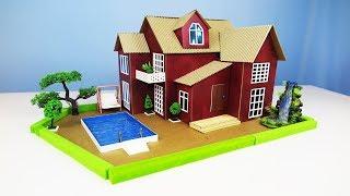 Diy Beautiful House Building Amazing Cardboard House