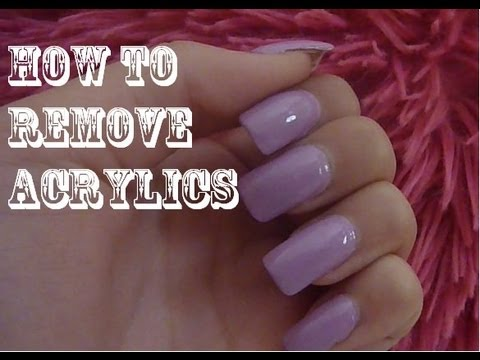 How to Easily Remove Acrylic Nails at Home