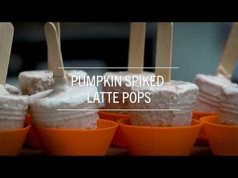 Pumpkin Spiked Pops