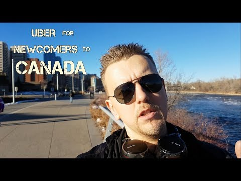 UBER for newcomers to Canada.
