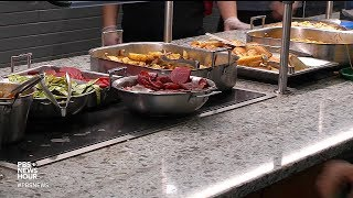 How uneaten college cafeteria meals can help fight food insecurity