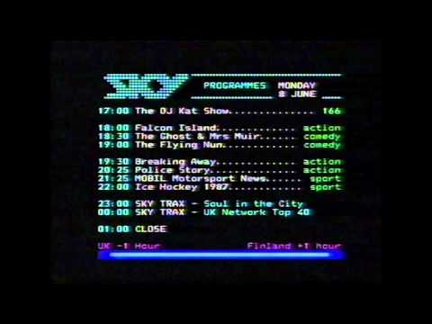 Sky Channel Teletext 1988